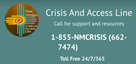 NM Crisis and Access line